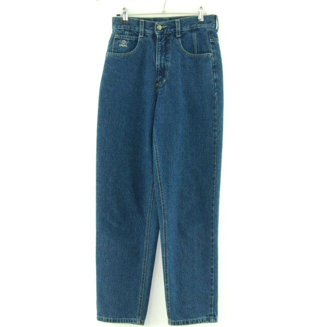 Denim Blue High Waisted Jeans