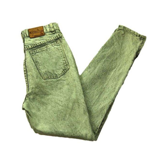 Explorer Acid Wash Grey High Waisted Jeans