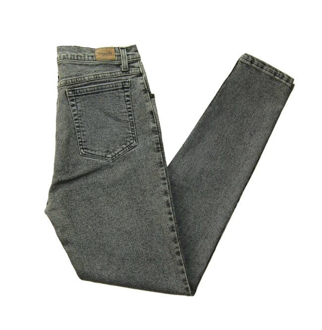 Wallys High Waisted Washed Jeans