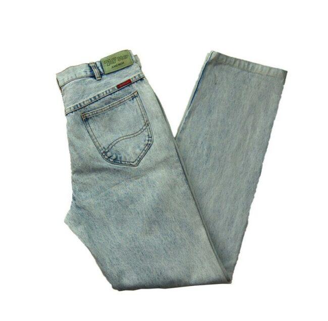 707 Star Acid Wash Skinny Jeans
