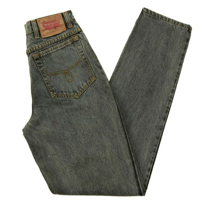 Wallys Grey High Waisted Jeans