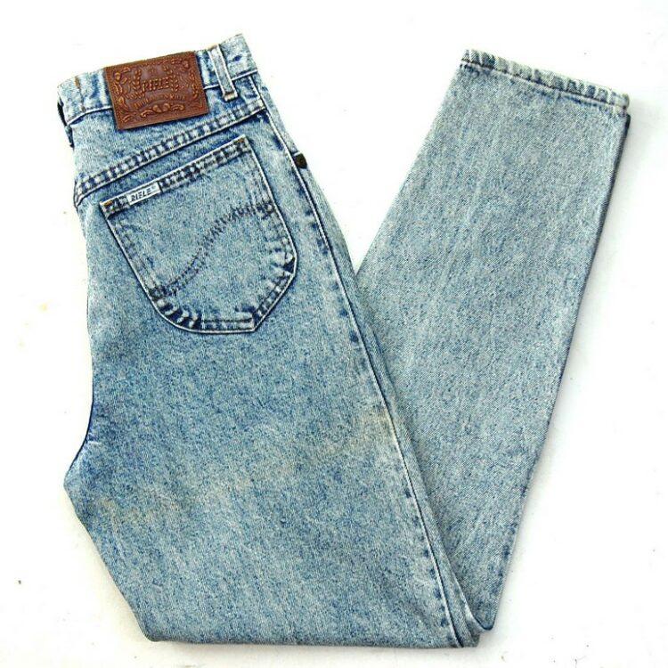Rifle Acid Wash Denim Jeans
