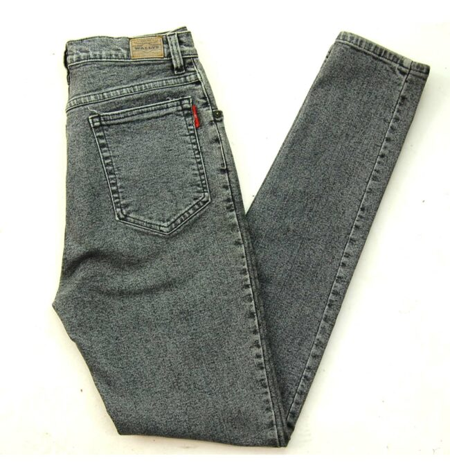 Wallys Grey High Waisted Skinny Jeans