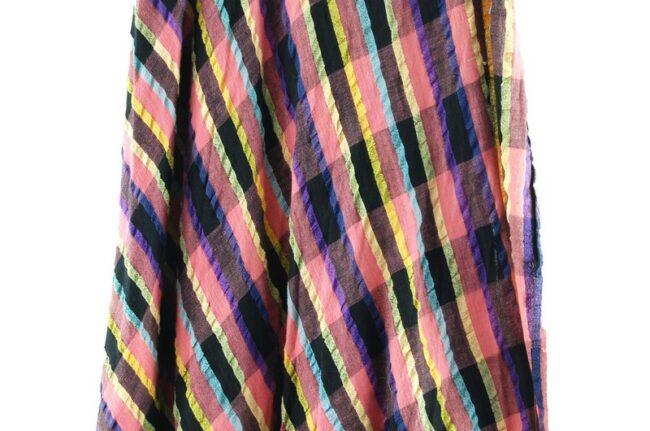 Close up of Ethnic Wrap Around Skirt