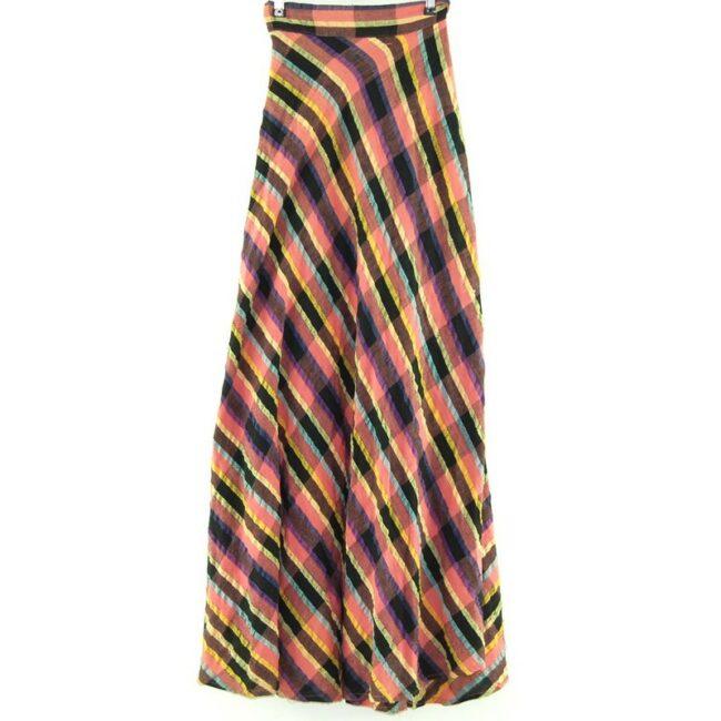 Back of Ethnic Wrap Around Skirt