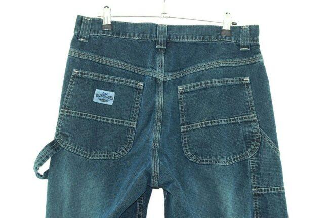 Back of Lee Dungarees Carpenter Jeans