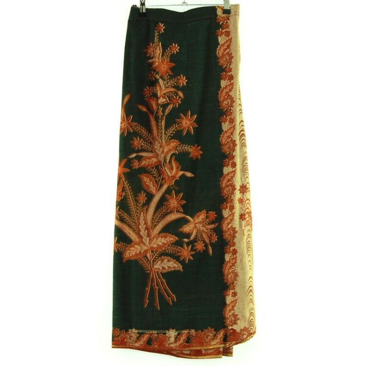 Floral Tie Skirt