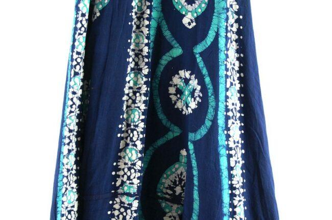 Close up of Vintage Wrap Around Skirt