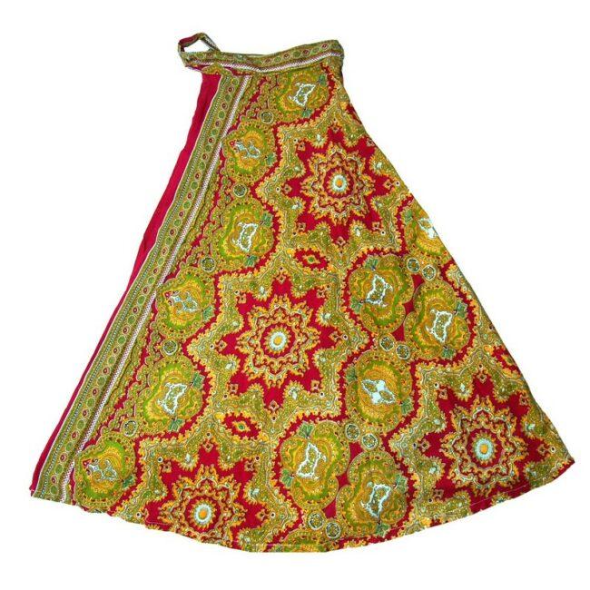 Paisley Wrap Around Skirt