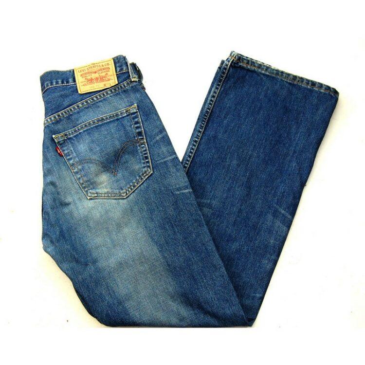Blue Denim Levi 508 Jeans