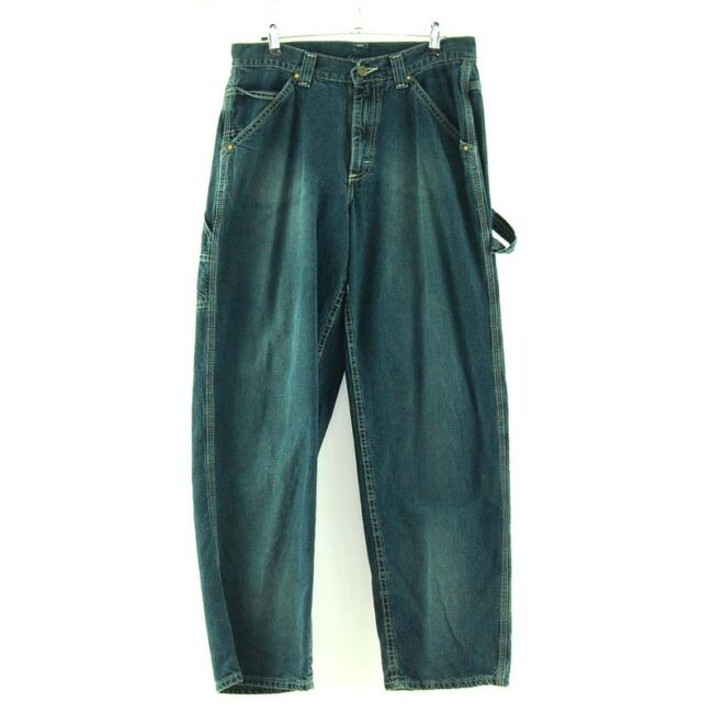 Front view of Lee Dungarees Carpenter Jeans