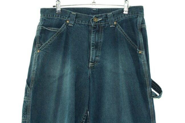 Front close up of jeans