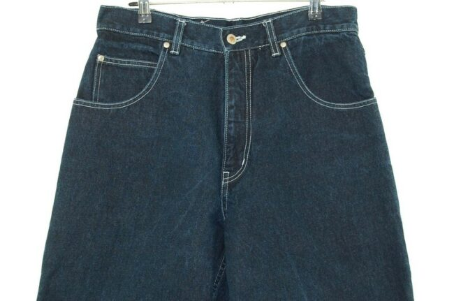 Front close up of Delf USA Japanese Label Jeans