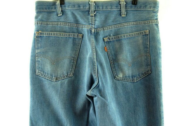 Back of Mens Levi Bootcut Jeans