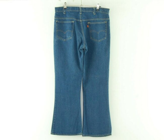 Back of Levis 646 70s Flare Jean