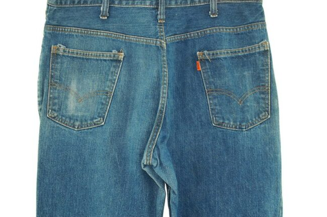 Back close up of 70s Levis 646