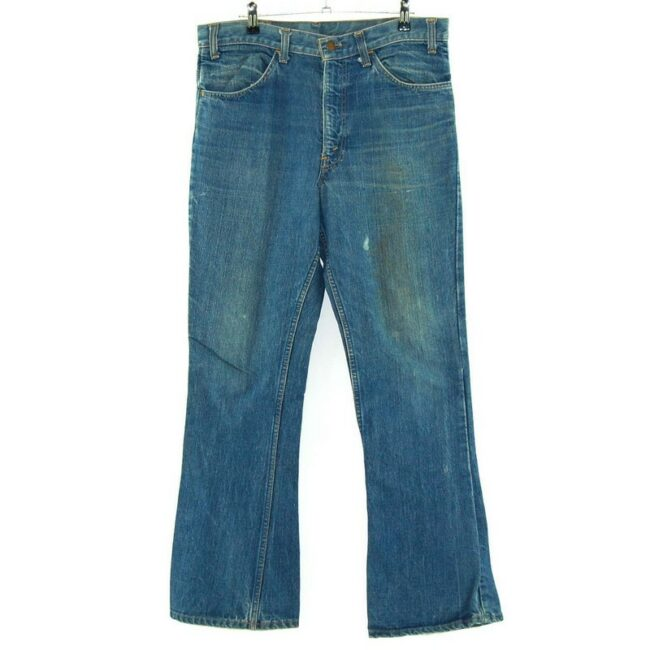 Front of Levis 646 Bootcut Jeans