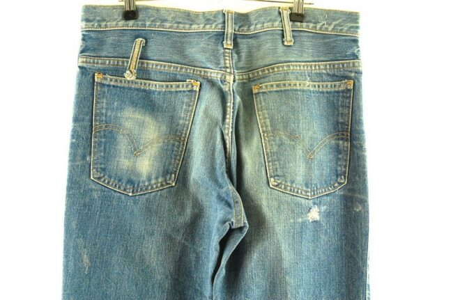 Back of Levis 646 Bootcut Jeans