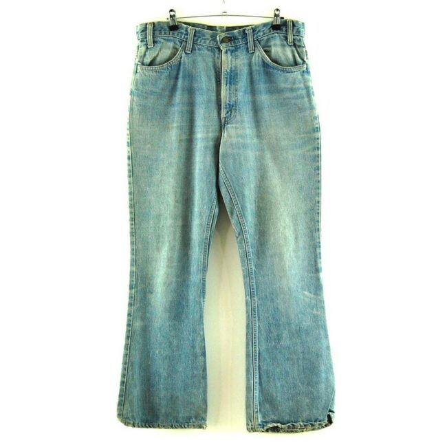 Faded Blue Levis 646 Jeans