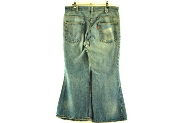 Back of Levi 646 Bell Bottom Jeans