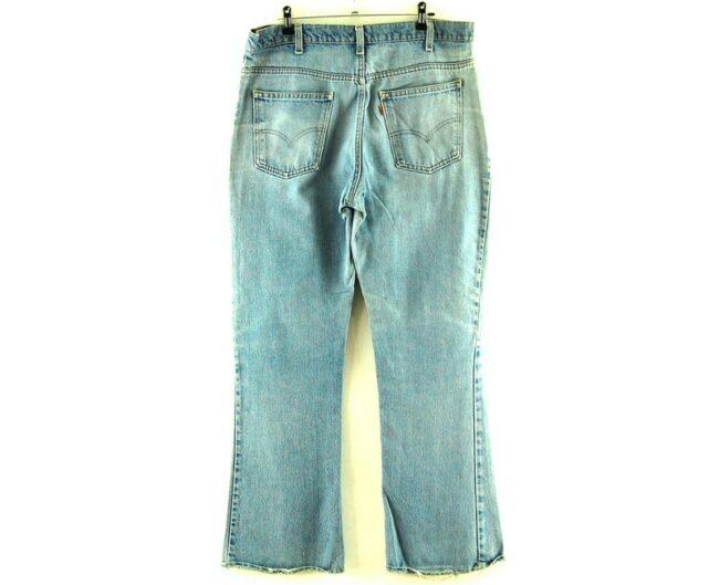 Back of Levis Vintage 517 Jeans
