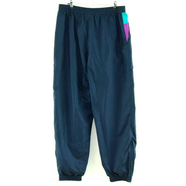 Back of Navy Blue Killtek Shell Suit Bottoms