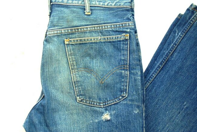 Back of Jeans
