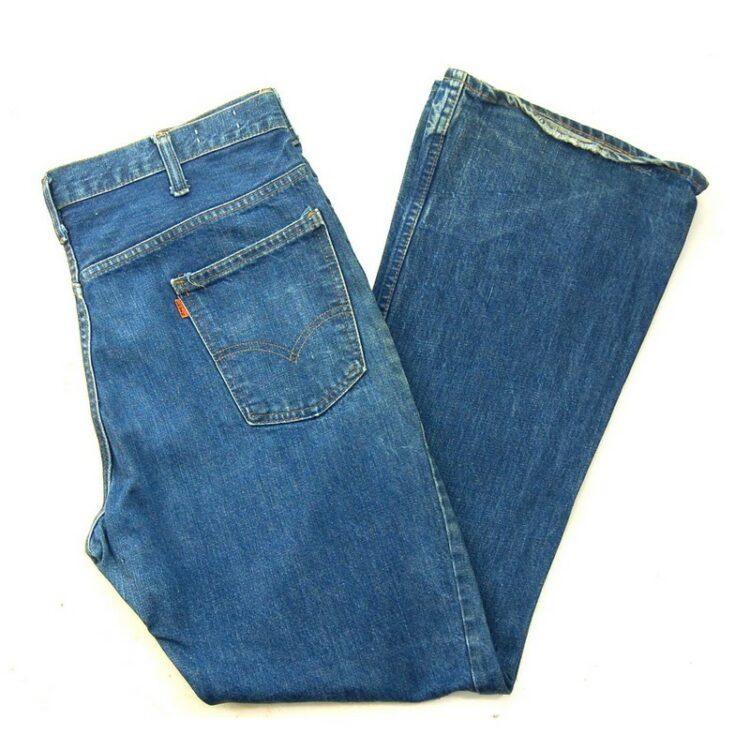 70s Blue Levis 646