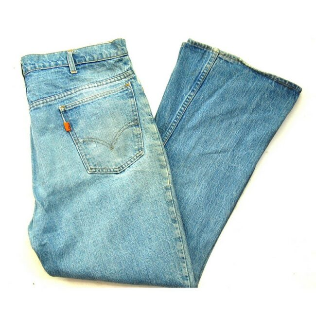 Blue 646 70s Levis Flare