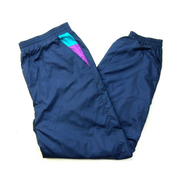 Navy Blue Killtek Shell Suit Bottoms