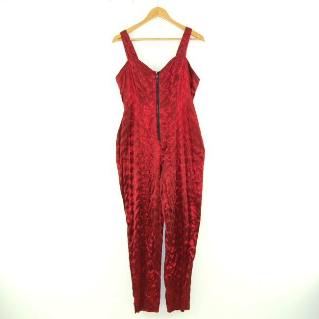 Red 90s Jumpsuit