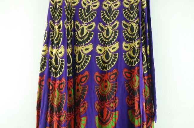 Close up of Vintage Wrap Skirt