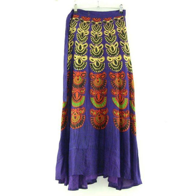Back of Vintage Wrap Skirt