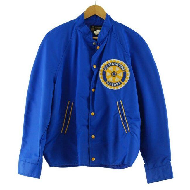 Assiniboine Rotary Club Nylon Bomber Jacket