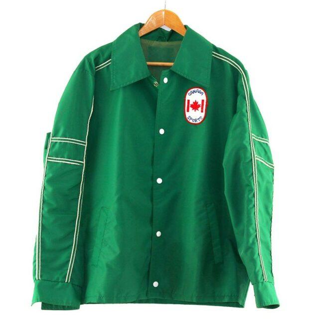 Canada Sports Nylon Coach Jacket