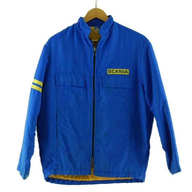 Blue Scania Trucker Jacket