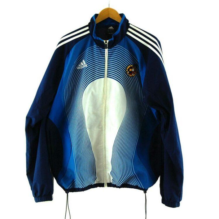 Blue Real Federacion Española De Futbol Adidas Training Top