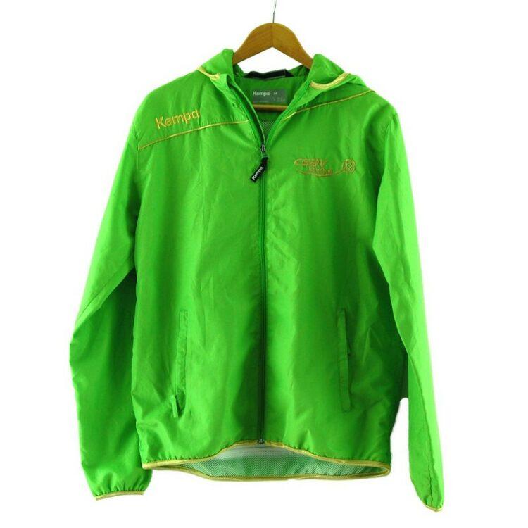 Lime Green Kempa Handball Jacket