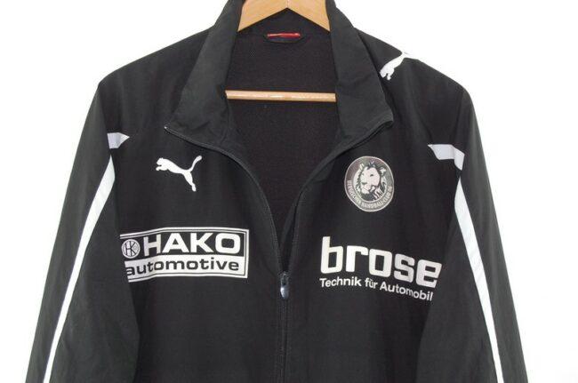 Close up of Puma Motorsport Jacket Black