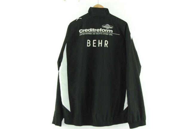 Back of Puma Motorsport Jacket Black