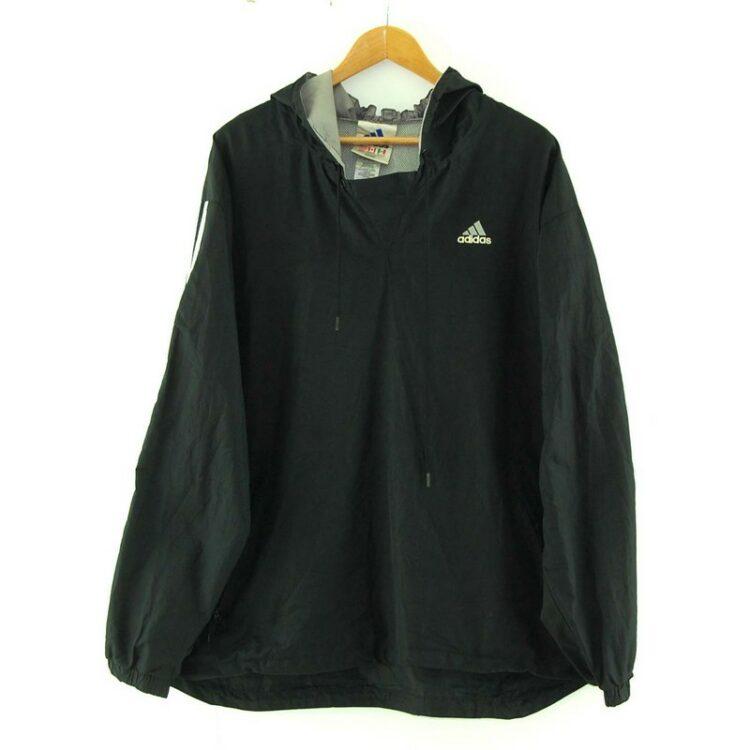 Adidas Black Hoodie Jacket