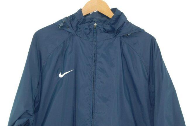 Close up of Vintage Nike Nylon Jacket
