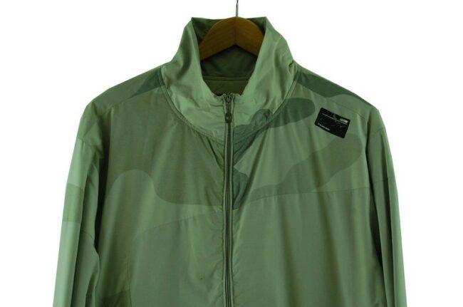 Close up of G Star Grey Jacket