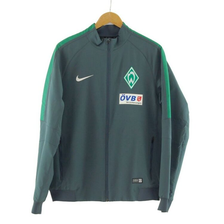 Grey Nike Soccer Jacket