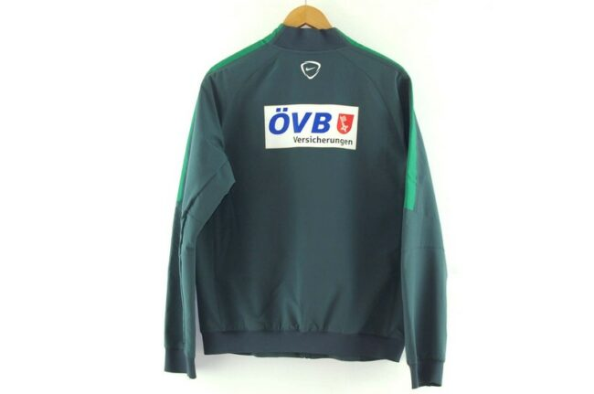 Back of Grey Nike Soccer Jacket