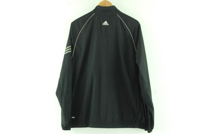 Back of Montague Girls Basketball Black Adidas Windbreaker