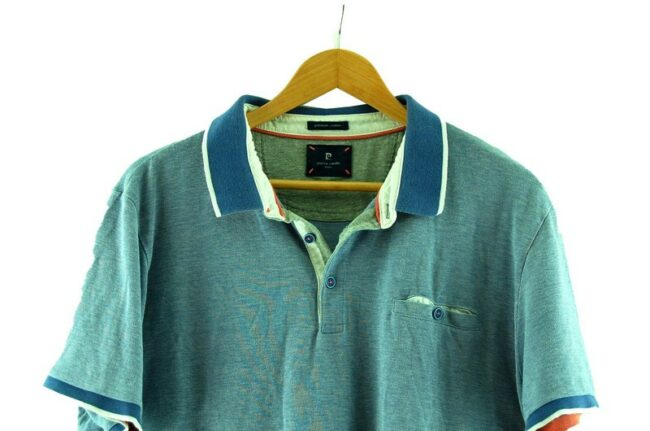 Close up of of Pierre Cardin Polo Shirt