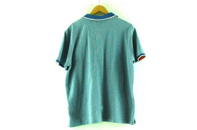 Back of Pierre Cardin Polo Shirt