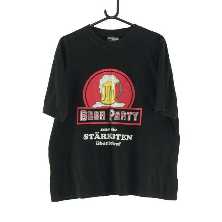 Beer Party Black Tee