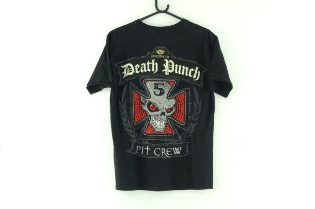 Back of Five Finger Death Punch Black Tee